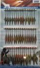 Набор двухсторонних блёсен (45 шт) 3 вида с тройником (крылья)