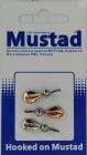 Набор мормышек с прижимом для мотыля тип- 2 (уп 3 шт)