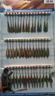 Набор двухсторонних блёсен (45 шт) 3 вида с мормышкой (крылья новые)